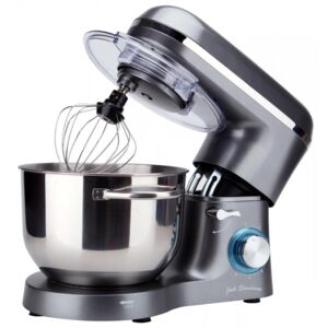 6.2L Stand Mixer with Splash Guard, Grey