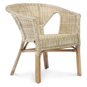 Wicker Loom Chairs in Natural