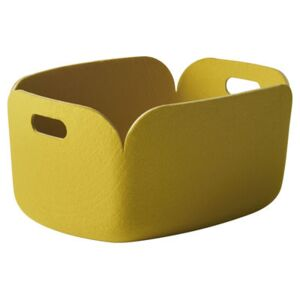 Restore Basket - 100% recycled by Muuto Yellow
