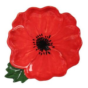 Coquelicot Bowl - / 21 x 18 x 4 cm by & klevering Multicoloured