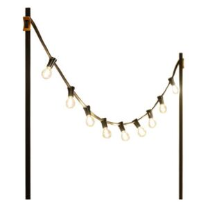 Light My Table Outdoor luminous garland - / With fixings for table tops by Vincent Sheppard Black