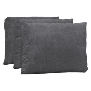 Backrest cushion - Set of 3 - For Australis sun bed by Extremis Grey/Black