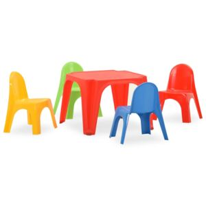 Children's Table and Chair Set PP