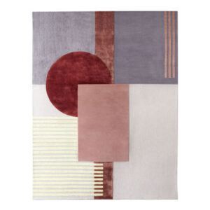 Around colors Rug - / 230 x 300 cm - Hand-tufted by Wiener GTV Design Pink/Multicoloured