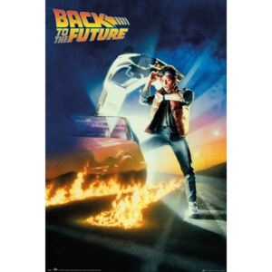 Poster Back To The Future - Key Art, (61 x 91.5 cm)