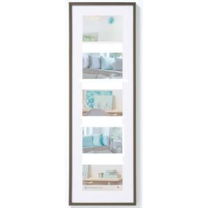 Walther Design Picture Frame New Lifestyle 5x10x15 cm Steel