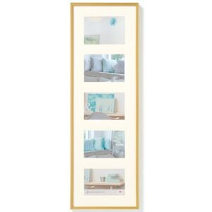 Walther Design Picture Frame New Lifestyle 5x10x15 cm Gold