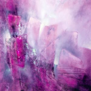 Illustration the bright side - pink with a hint of purple, Annette Schmucker