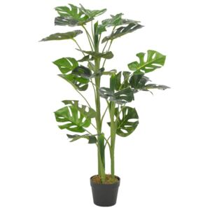 Artificial Plant Monstera with Pot Green 100 cm