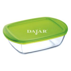 Glass casserole baking dish heat-resistant Cook & Store with lid 23 x 15 x 6.5 cm PYREX