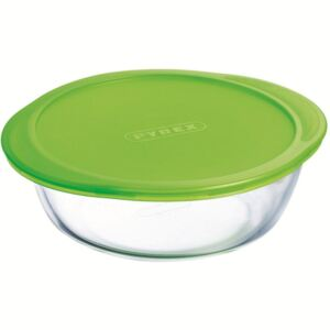 Glass casserole baking dish heat-resistant Cook & Store with lid 26 cm PYREX