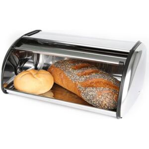 Bread box of stainless steel - small