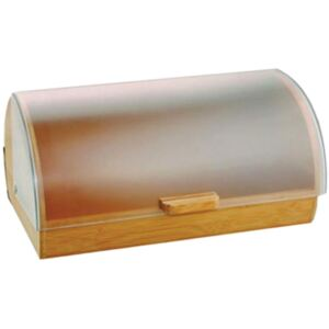 Wooden bread box Gordon with a plastic lid 39 x 28 x 18,5 AMBITION