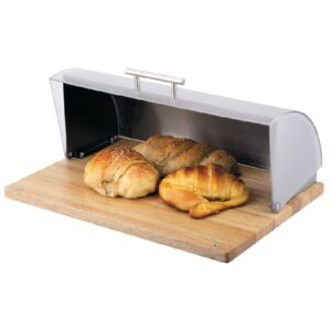 Bread box on the wooden base Logan AMBITION