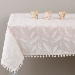 Tablecloth Lovely Feather 130 x 160 cm AMBITION