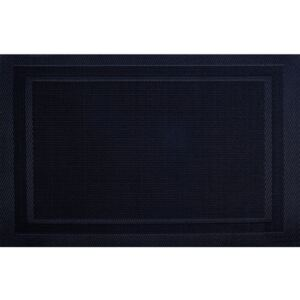 Table mat PVC/PS houndstooth 30 x 45 cm black AMBITION