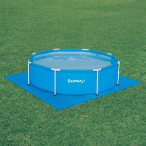 The floor protection under the swimming pool 274x274cm BESTWAY