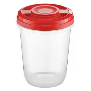 Microwaveable container Fusion Fresh 1 L Vivid red