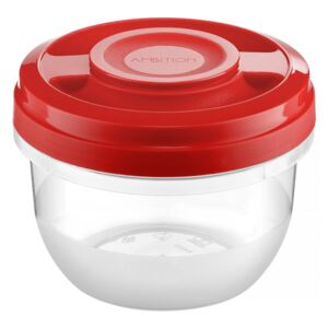 Microwaveable container Fusion Fresh 0.5 L Vivid red