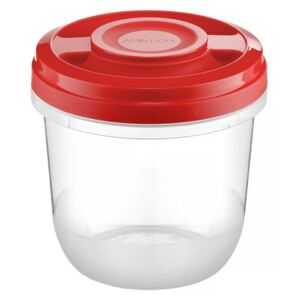 Microwaveable container Fusion Fresh 0.75 L Vivid red
