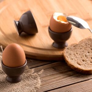 Egg cup Fusion Fresh taupe AMBITION