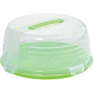 Round cake container 34,7 cm green CURVER