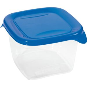 Square container for food storing FRESH&GO 1,2L