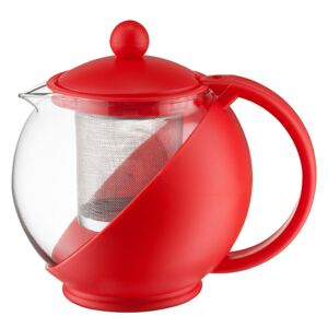 Jug Morgan with infuser 750 ml red DOMOTTI