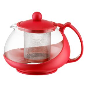 Jug Bistro with infuser 750 ml red DOMOTTI