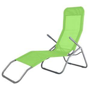 Folding dack chair lime PATIO