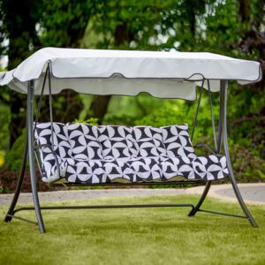 Replacement swing cushions set with canopy Piemont H020-07PB PATIO