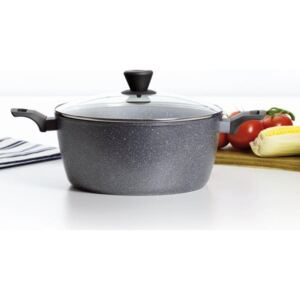 Cooking pot with lid Silverstone 20 cm Induction AMBITION