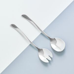 Serving spoon and fork Wave AMBITION