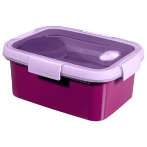 Food storage container To Go Lunch Kit rectangular 1,2 l purple CURVER