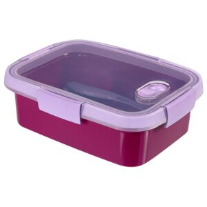 Food storage container To Go Lunch rectangular 1l purple CURVER