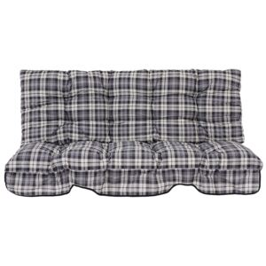 Replacement swing cushions set with canopy 140 cm Hawaii B022-06PB PATIO