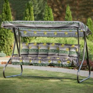 Replacement cushions with canopy for garden swing 170 cm Parma / Milano C025-06PB PATIO