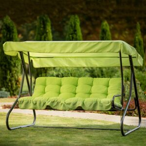 Replacement cushions with canopy for garden swing 170 cm Parma / Milano H027-12PB PATIO