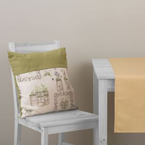 Throw pillow double-sided Green Anna 45 x 45 cm L092-02LB PATIO