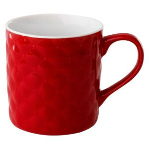 Mug quilted Glamour 420 ml red AMBITION