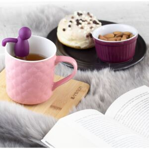 Mug quilted Glamour 420 ml pink AMBITION
