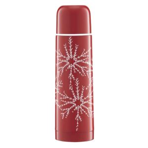 Thermos Winter Snowflakes 500 ml red AMBITION