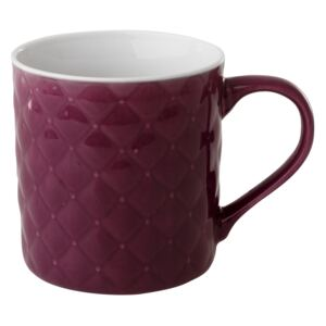 Mug quilted Glamour 420 ml purple AMBITION
