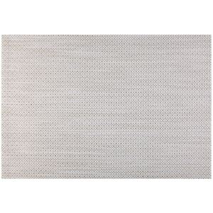 Placemat Glamour 45 x 30 cm white - gold AMBITION