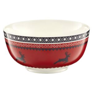 Bowl Winter 13 cm red AMBITION
