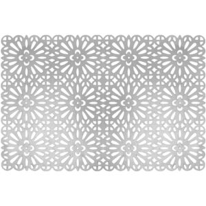 Placemat Glamour 45 x 30 cm silver AMBITION