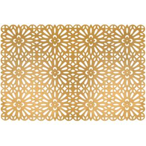 Placemat Glamour 45 x 30 cm gold AMBITION