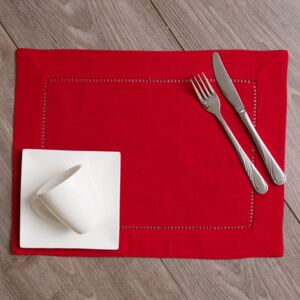Table napkin Classical Red 30 x 40 cm AMBITION