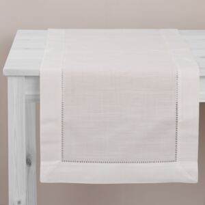 Table runner Classical White 40 x 150 cm AMBITION