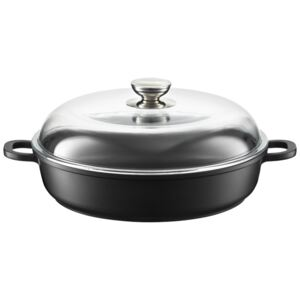 Roaster / deep frying pan Magnat with lid 24 cm AMBITION